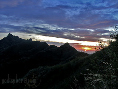 Sunset at Mt. Batulao