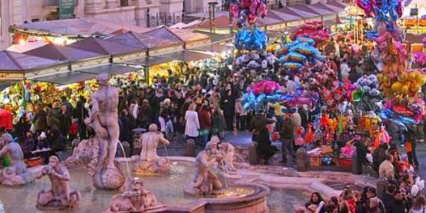 mercatini di natale roma 2014