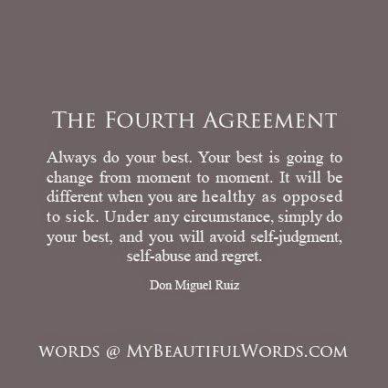 My Beautiful Words The Fourth Agreement