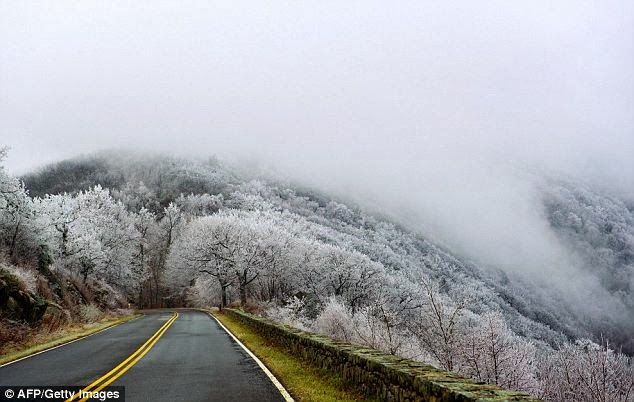 Virginia Gets a Chill as Cold Air Grips Parts of USA