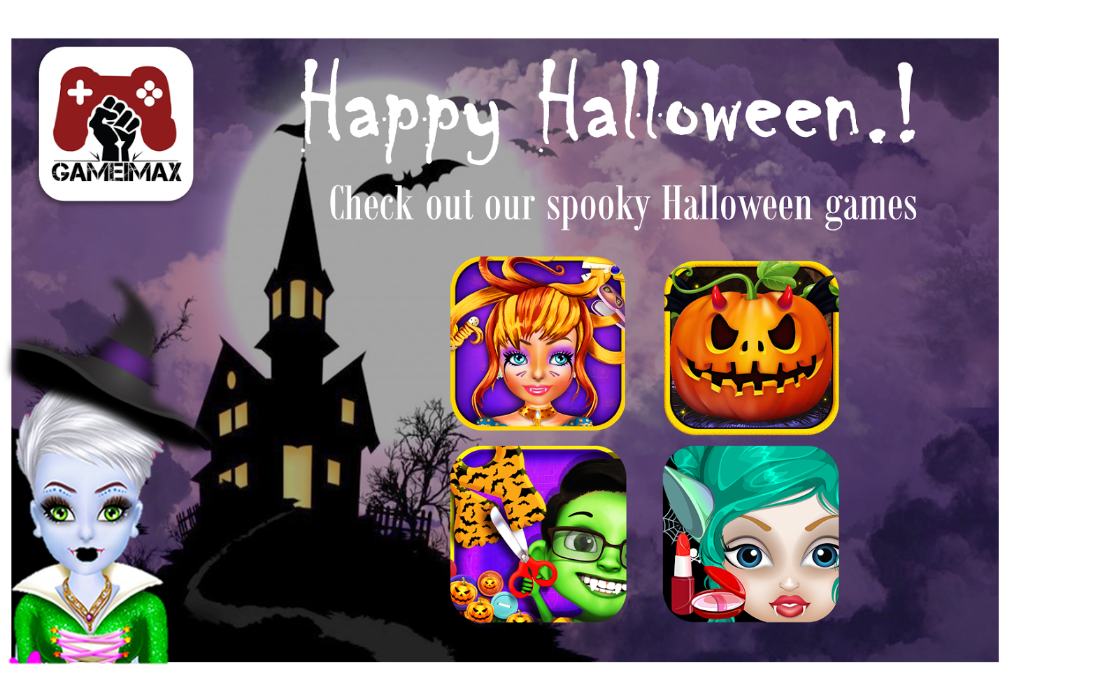 free halloween games for android