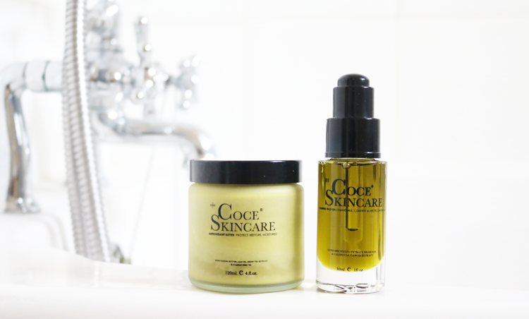 Coce Skincare Antioxidant Butter & Calming Face Oil review