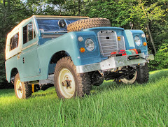 Land Rover restorations