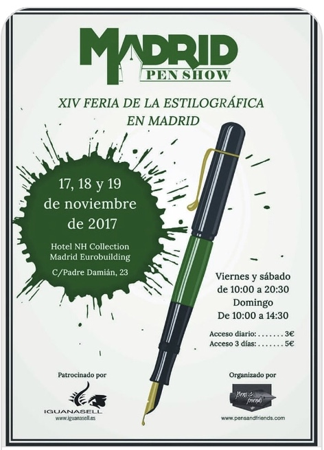 PEN SHOW MADRID