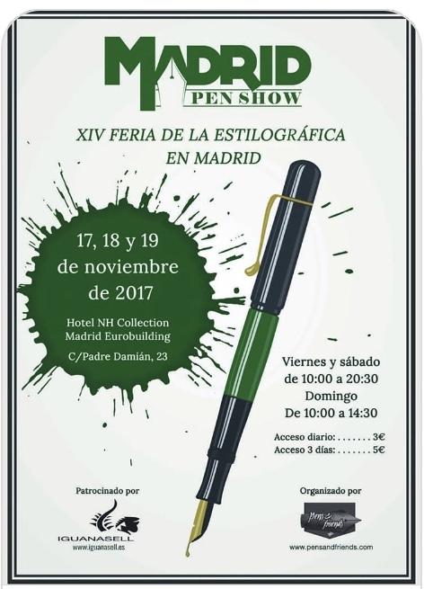PEN SHOW MADRID