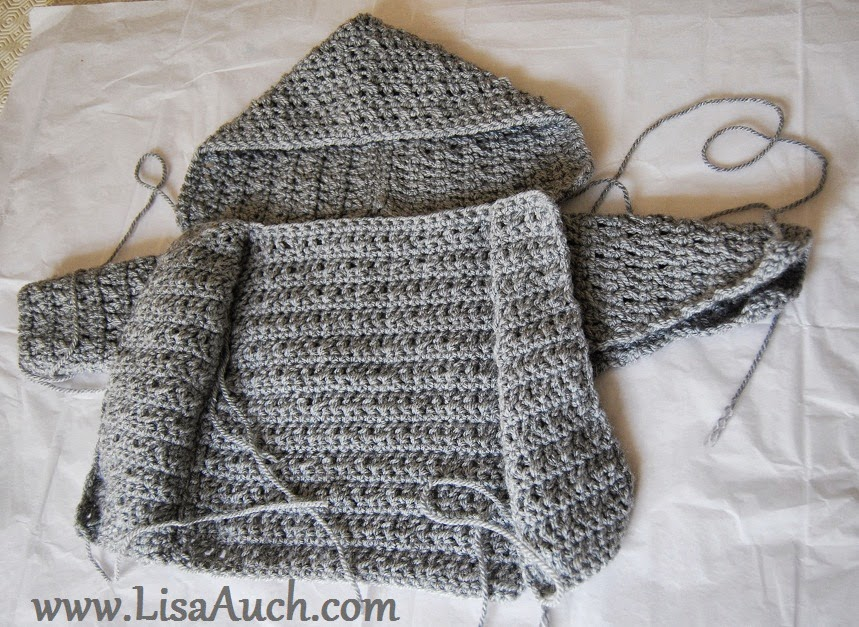 Free Crochet Pattern For A Baby Sweater : Free Crochet Hooded Baby Sweater Pattern - Hot Girls Wallpaper