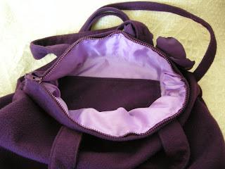 szycie - torebka w rozmiarze xxl