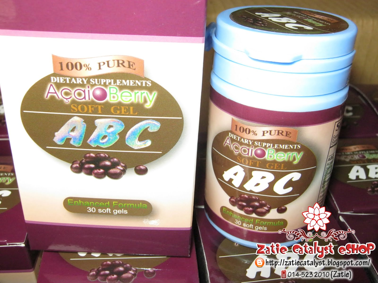 ABC Acai Berry Capsules Original from HongKong
