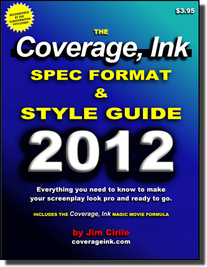 Free ebooks on screenwriting and writing screenplays creative ebook 16 the coverage ink spec format style guide fandeluxe Gallery