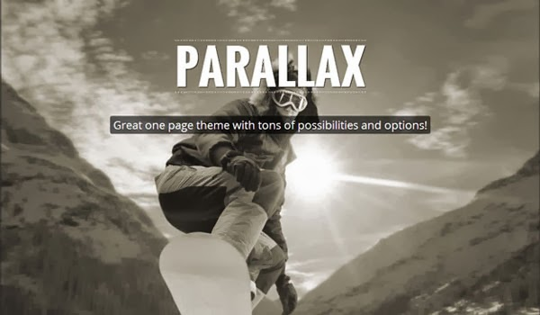 Parallax-one-page-theme