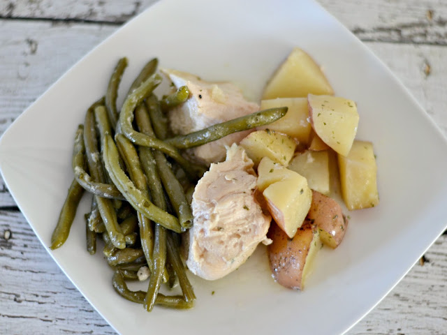Ranch Chicken One Dish Meal, easy One dish meals for families, One dish meals, Ranch Chicken with Green beans and Potatoes