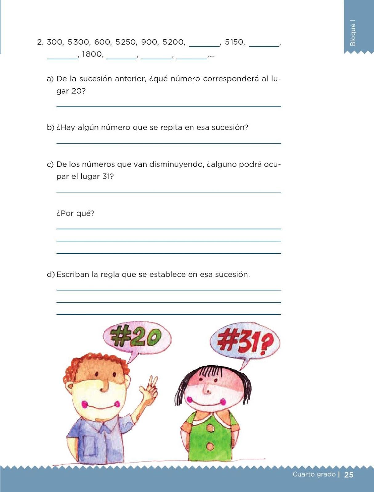 Apoyo Primaria Desafíos matemáticos 4to grado Bloque I lección 9 ...