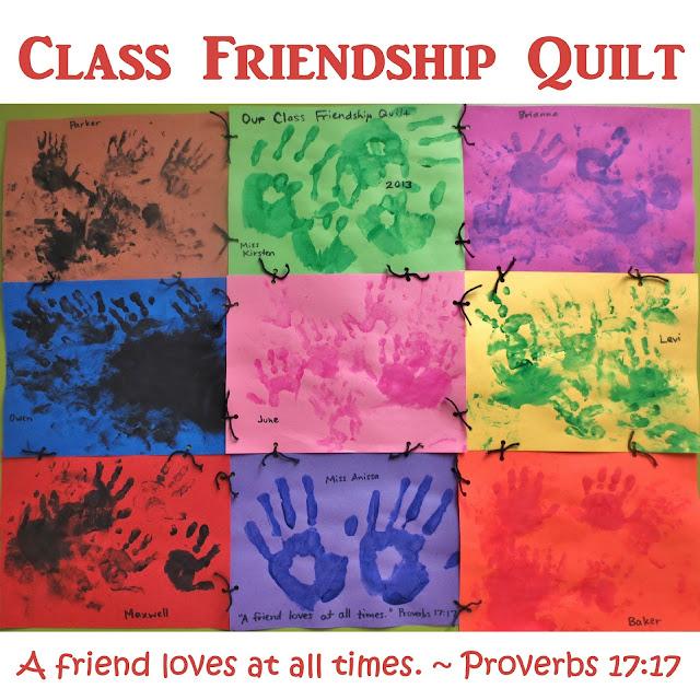 Classroom Quilt Themes ~ Princesses pies preschool pizzazz class friendship quilt