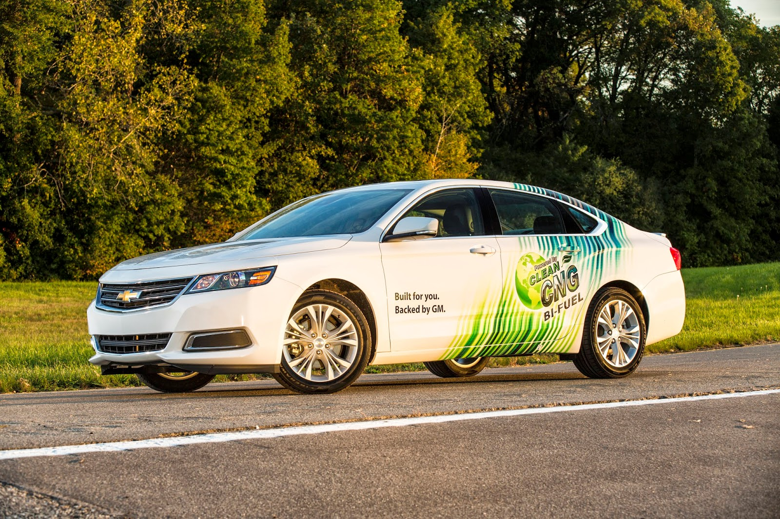 CNG-Capable Chevy Impala Pricing Announced
