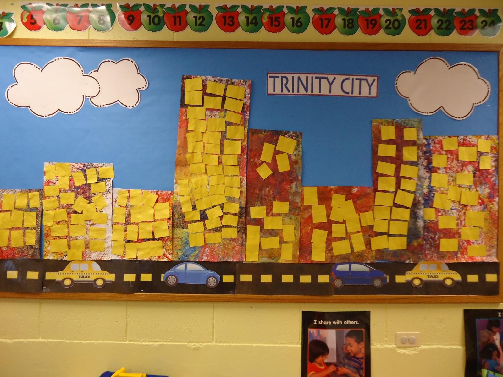 We Do A Construction Themed Bulletin Board