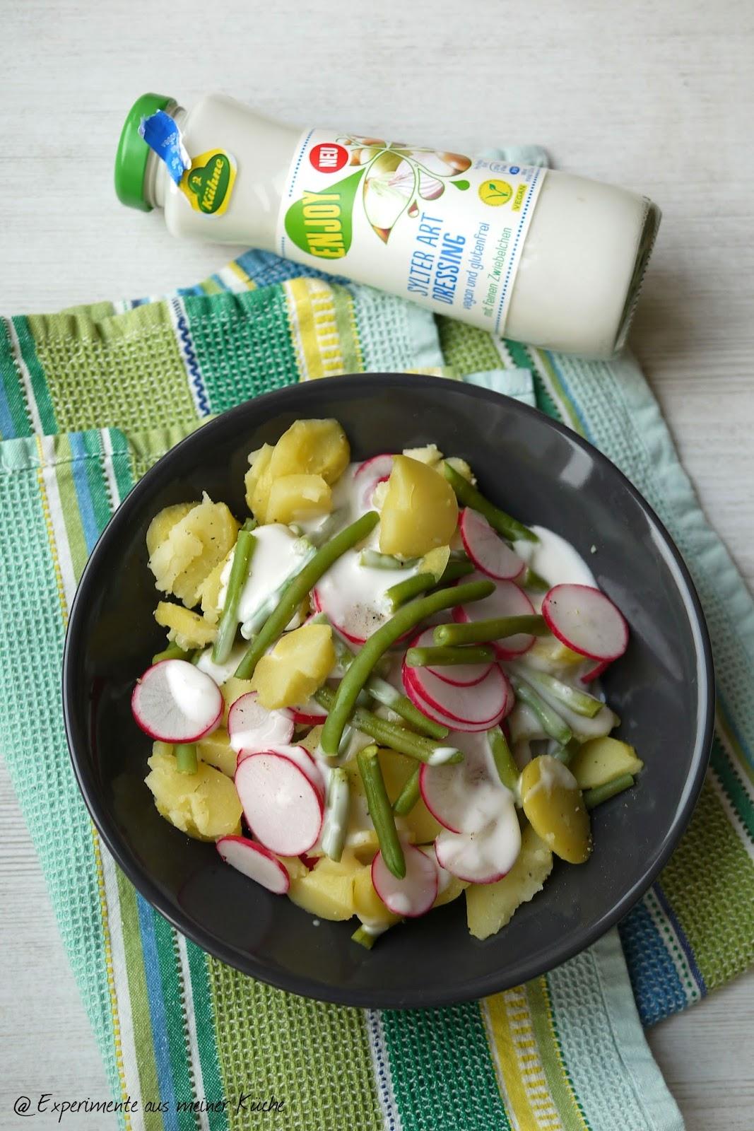 "Experimente aus meiner Küche: Kartoffelsalat ""Sylter Art"" #enjoydressing"