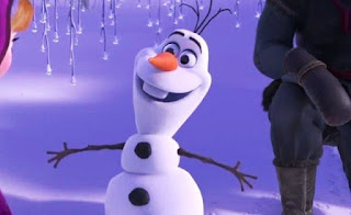 Wallpaper gambar Olaf Frozen