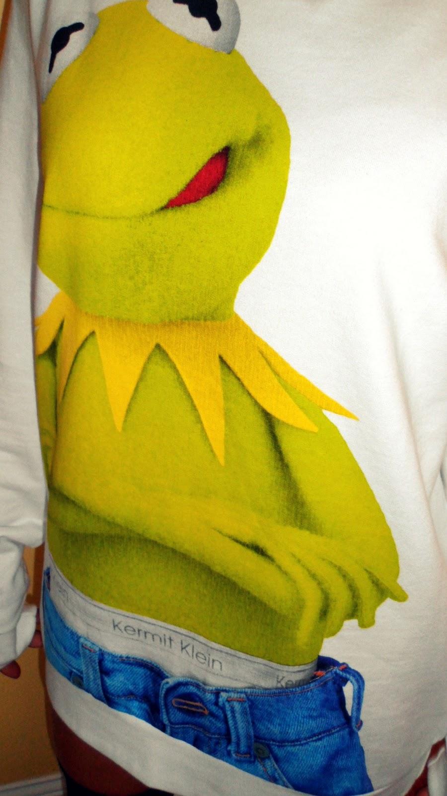 Haha Tom's Kermit Sweatshirt