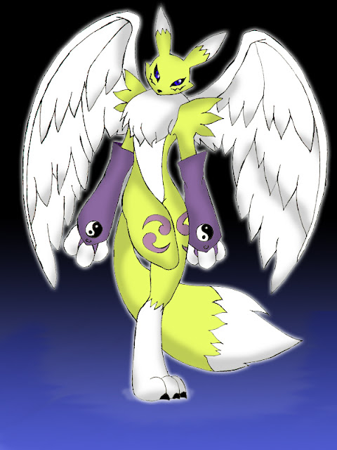 winged Renamon por Reagan700