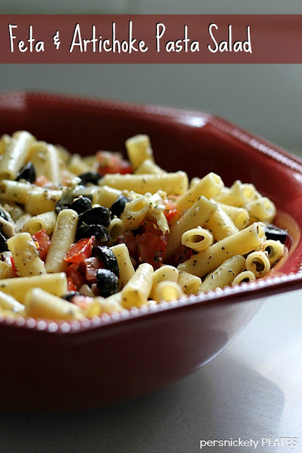 Persnickety Plates: Feta & Artichoke Pasta Salad