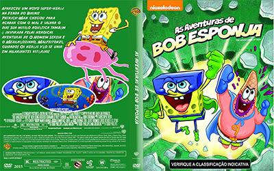 As Aventuras De Bob Esponja DVDRip XviD Dublado capa 2B3