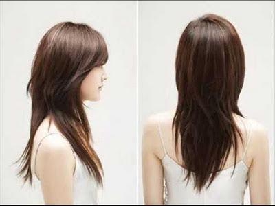 gaya rambut korea,model rambut wanita korea,trend mode rambut ala korea