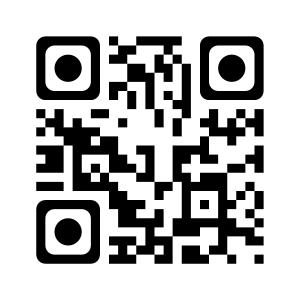Código QR de la página web de la biblioteca