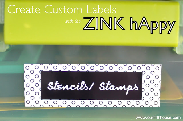 Create Custom Labels with the ZINK hAppy