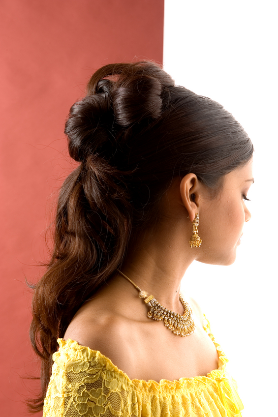 Superior Indian Wedding Hairstyles For Long Hair