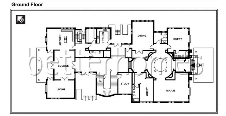Mansions Amp More Mansion In Dubai W Floor Plans