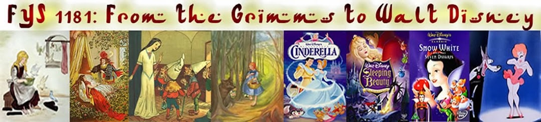 FYS 1181: From the Grimms to Disney