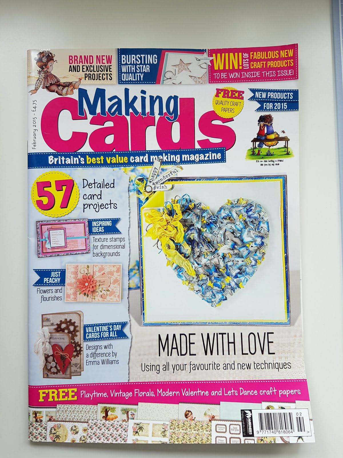 Published - Feb 2015 - Making Cards