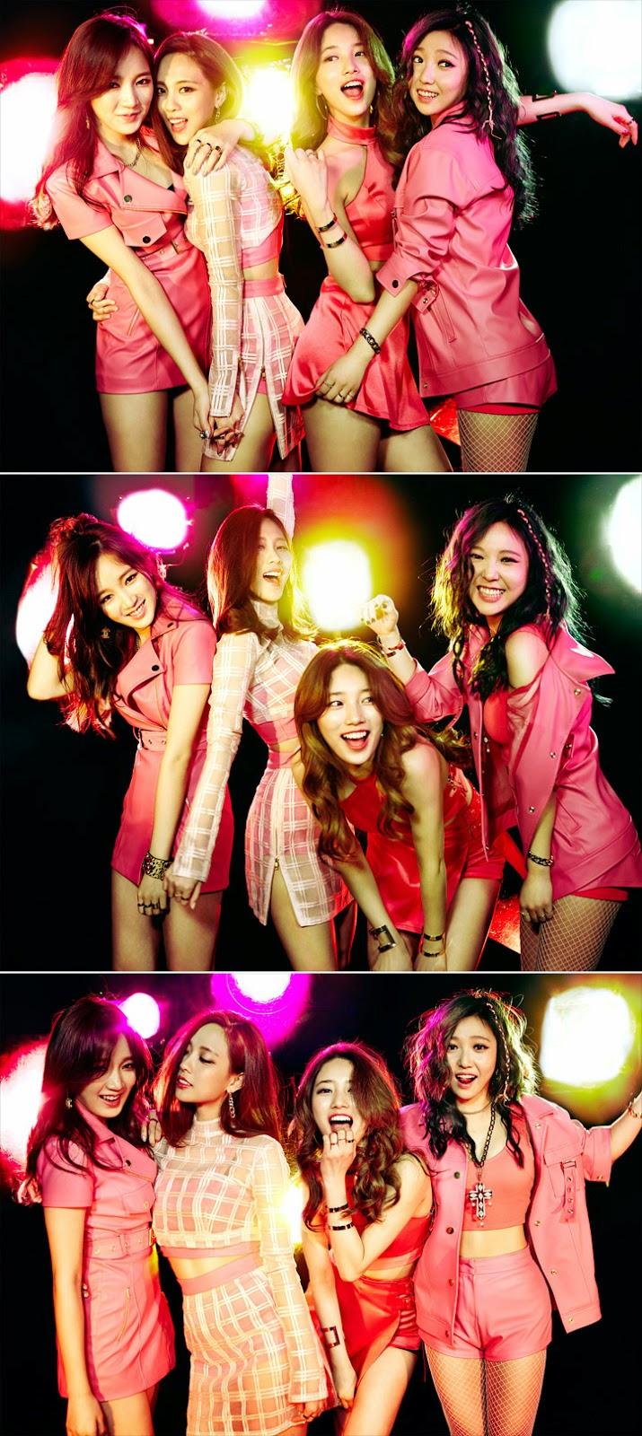 miss A Colors Hush Suzy Jia Min Fei JYP K-pop k pop Big Girl Good Girl Bad but Good Breathe Dream High Touch Kim Soo Hyun Architecture Enjoy Korea