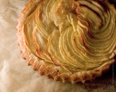 thin apple tart - french apple pie