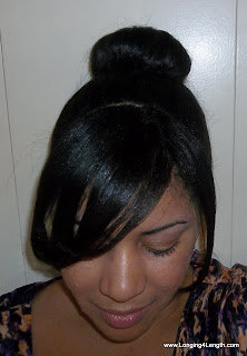 Evelyn Lozada Inspired Bun