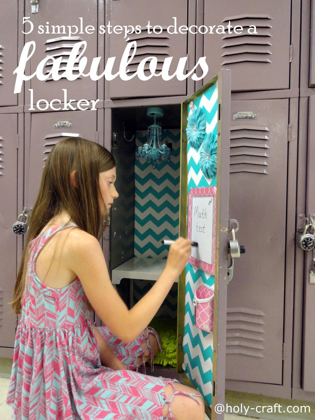 5 simple steps to decorating a fabulous locker with locker lookz if you have a tween or teen daughter you will be their hero if you read these 5 simple steps to decorating a fabulous locker with the help of llz by locker arubaitofo Image collections