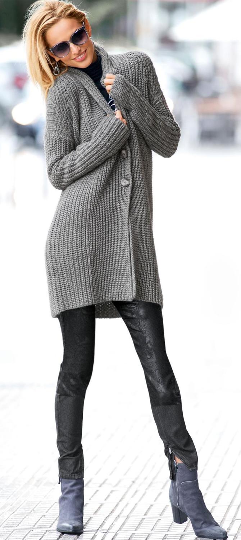 MADELEINE Oversized Cardigan