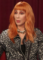 Cher during her Livestream interview