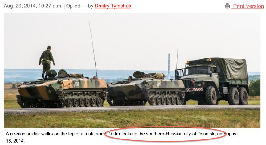 Ukraine-Berichterstattung: Die Wahrheit liegt eben nicht