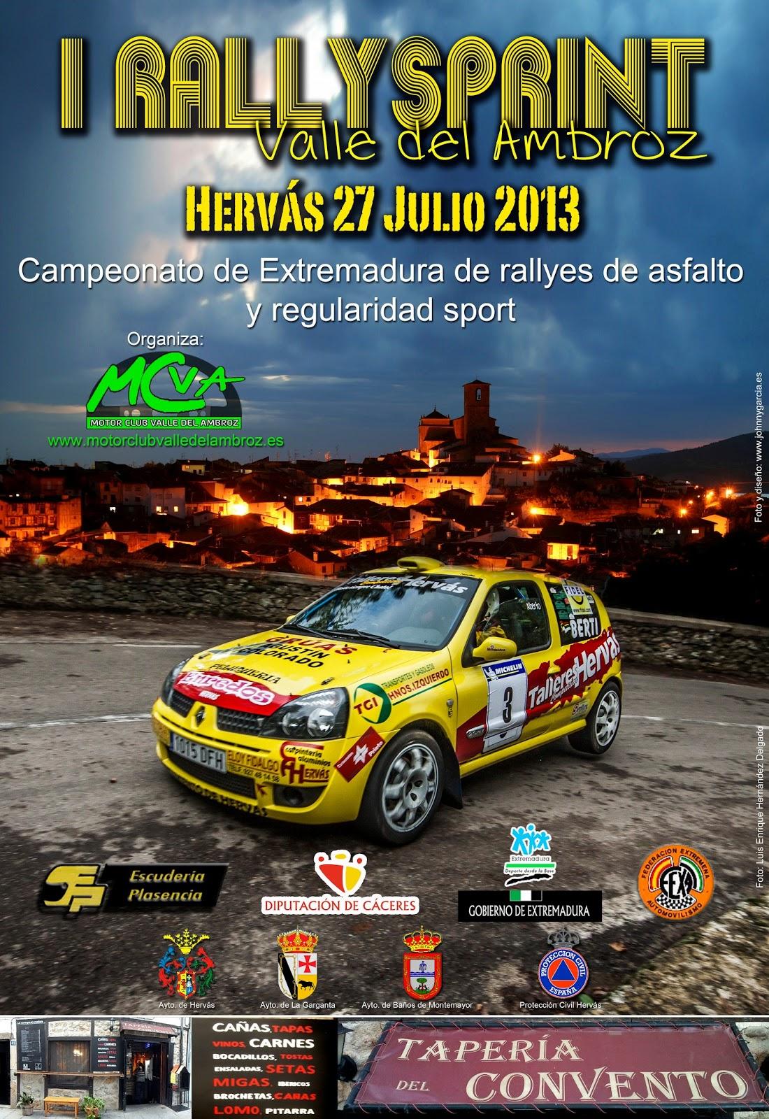 [EXTREMADURA] I Rallysprint Valle del Ambroz [27 Julio] Cartel+I+Rally+Esprint+ok