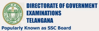 Telangana SSC 10th Class  2015 Examination Time Table March 2015