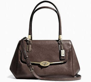 COACH Madison Small Madeline East/West Satchel 25169