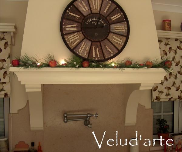 decoracao cozinha diy: da cozinha – DIY :: Christmas decoration in the kitchen chimney – DIY