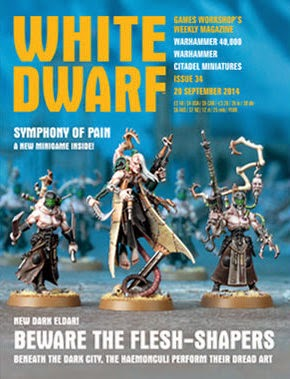 White Dwarf Weekly número 34 de septiembre