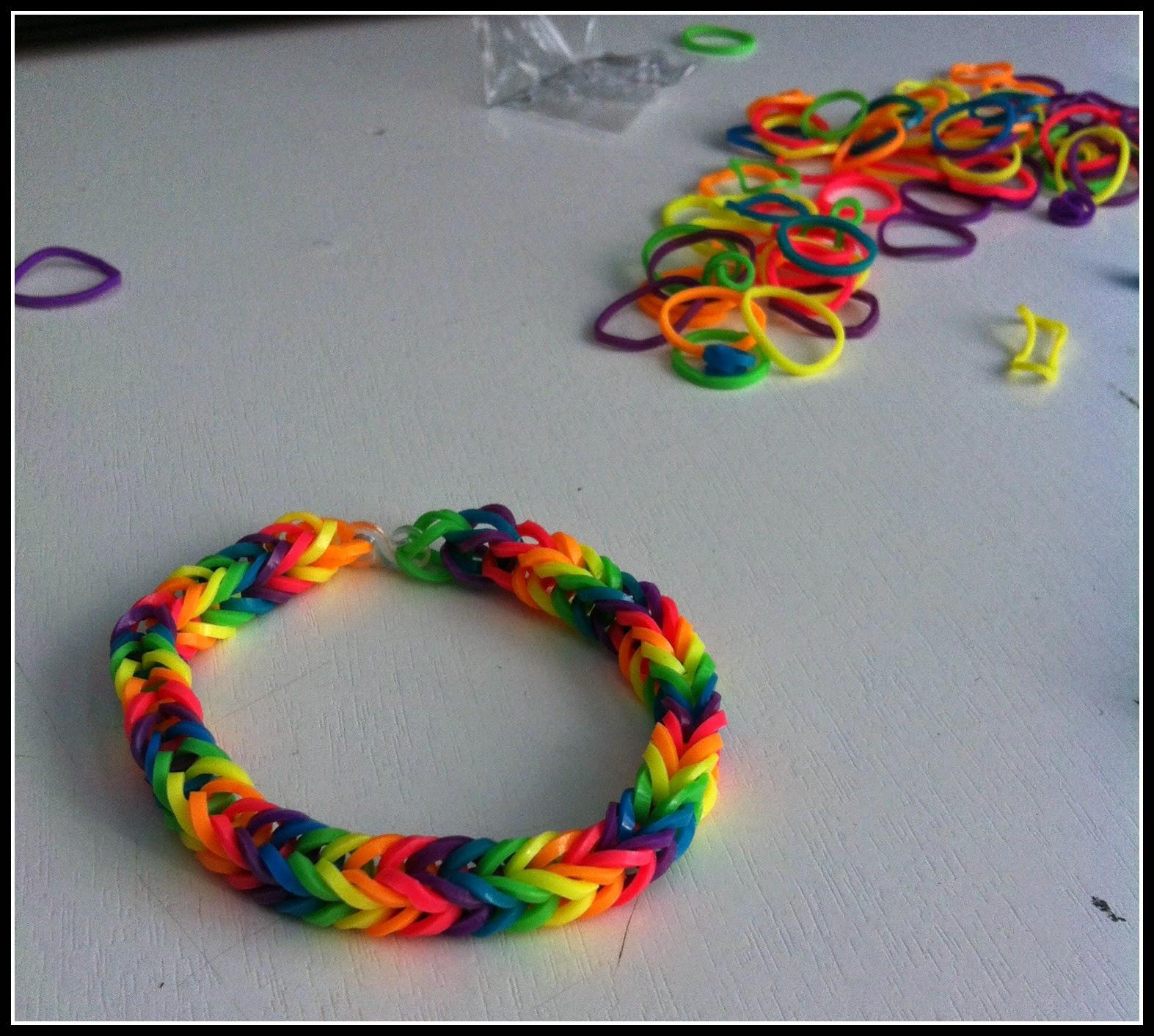 Le Creazioni Di Federica Tutorial Braccialetti Rainbow Loom Senza