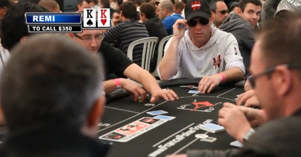 Rémi Gaillard poker