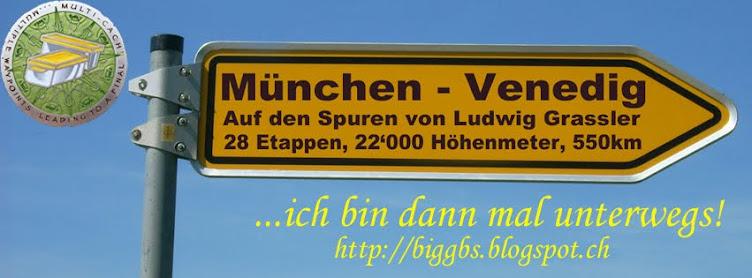 bigGBS auf dem Traumpfad von München nach Venedig