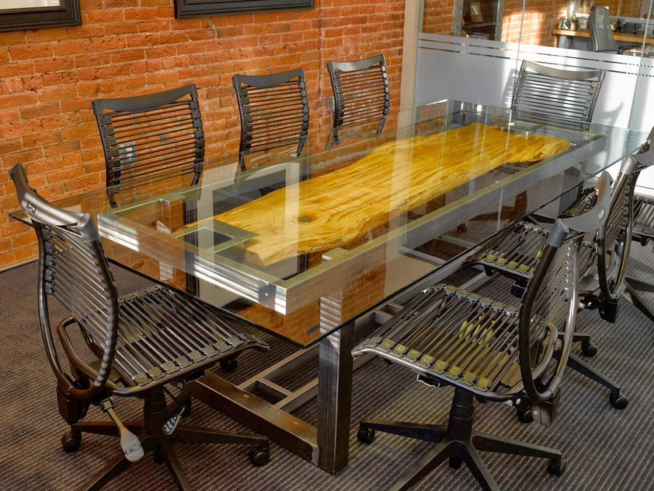 Talk About Chair - T shaped conference table