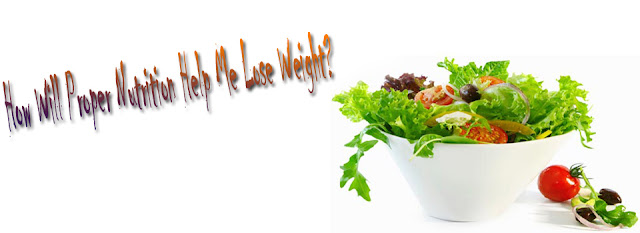 Lose Weight By Proper Nutrition