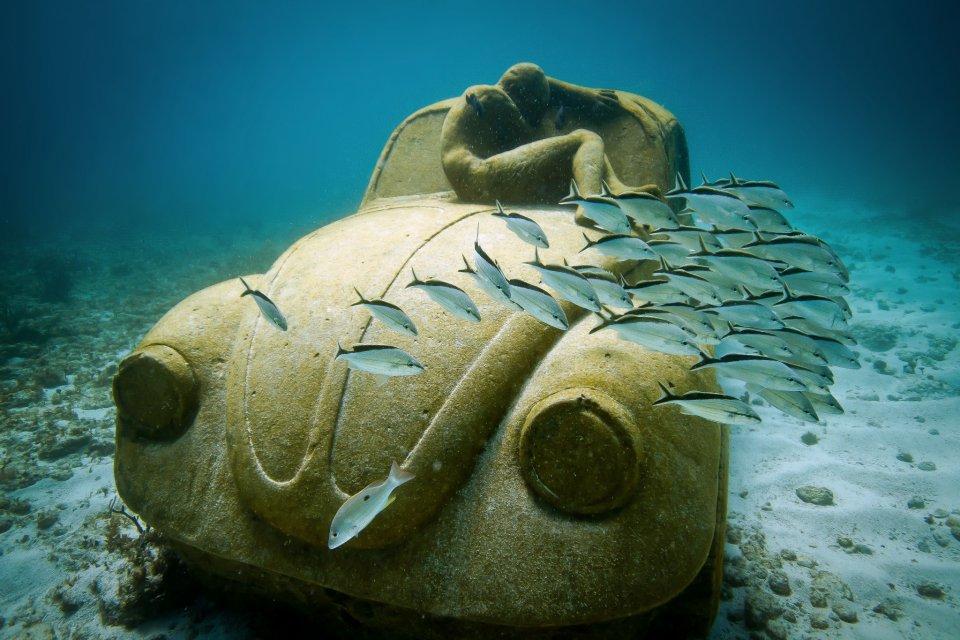 Meksika Sualtı Heykel Müzesi ile ilgili görsel sonucu